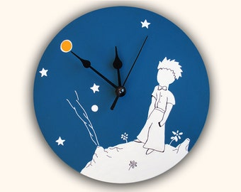 LITTLE PRINCE wall clock, unique decoration, christmas gift