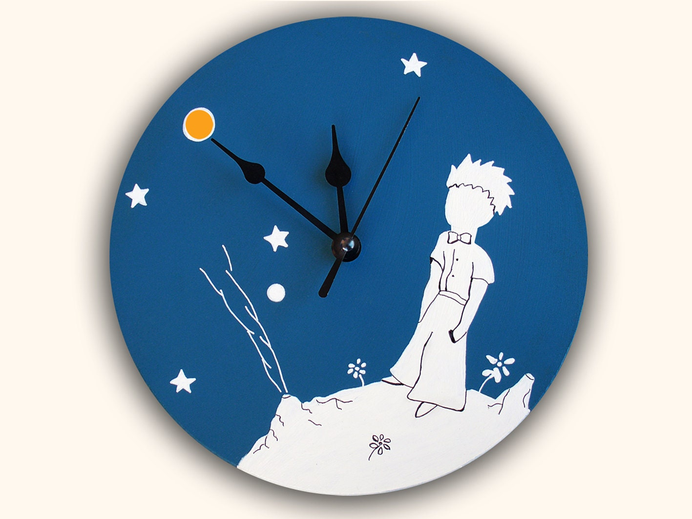 Little prince wall clock unique decoration christmas gift Decoration le petit prince
