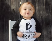 Inspirational Alphabet - Child t-shirt - tee - raglan - toddler, baby, infant - American Apparel