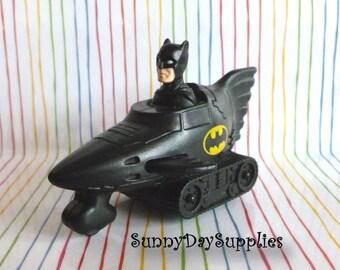 The Bat Tank, Batman Mobile, Vintage McDonald's Happy Meal Toys, The Bat Tank, RARE Toy, From Batman Animated Series, Batman  Car, Tank