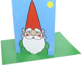 Gnome (A6 greeting card)