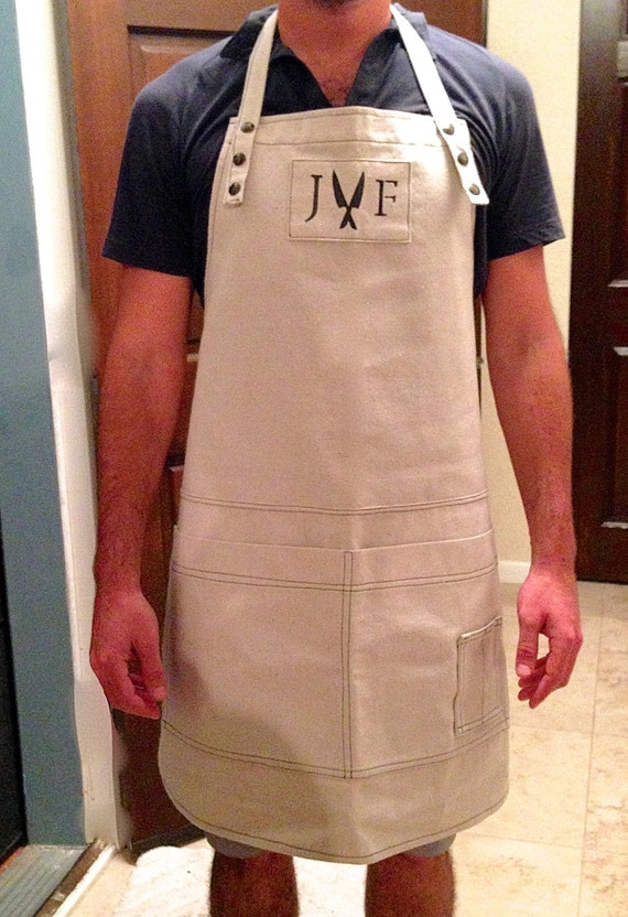 Heavy Duty Aprons : Men s women heavy duty chef apron in by themeditationroom