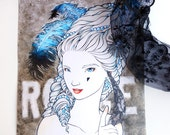 Marie Antoinette - A4 PRINT - Makissima