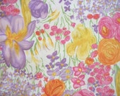 Fabric Flowers Spring Pastel By The Yard Quilting Sewing Susan Winget Fabric