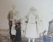 Dancing Bear antique photo 1920s