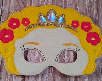 Rapunzel Mask Party Favor Dress Up Pretend Play