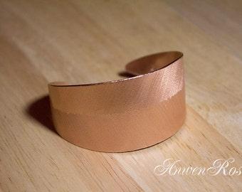 Copper Leaf Cuff Bracelet