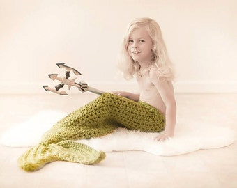 Crochet Pattern for Mermaid Tail Photography Prop - Baby to Adult - Welcome to sell finished items