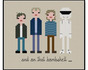 Top Gear BBC - Cross Stitch PDF Pattern