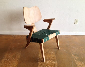 Russell Spanner Ruspan Lounge Chair Mid Century Modern