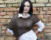 KNITTING PATTERN / Knitting Sweater Pattern / Knitting Crop Sweater pattern / Crop Sweater pattern / Knitting Vest Pattern / Knitting Top