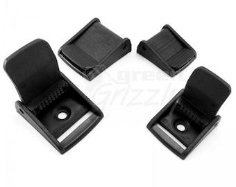30 pcs Plastic Cam Lever flap buckles for 20 or 25 mm straps webbing belt
