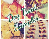 2 Little Bostons Dog Treat Sampler - 4 different flavors - 50 mini treats - great for new customers! Free Shipping