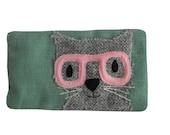 Charlie the cat phone or glasses case