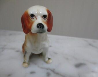 Vintage Bone China Dog
