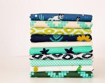 Half Yard Bundle Mesa, 10 Pieces, Alexia Abegg, Cotton+Steel, RJR Fabrics, 100% Cotton Fabric