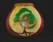 Sunlight in the Boughs Gourd Art