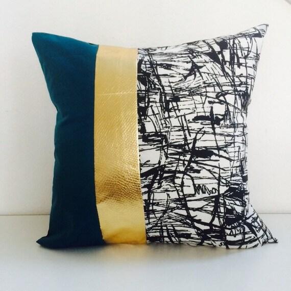 modern stripe pillow cover 20x20 cushion linear
