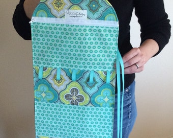 Ultimate Hanging Jewelry Roll/Toiletry Roll