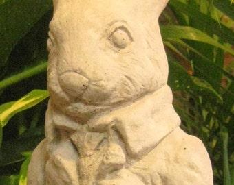 Large Classic Concrete Garden Rabbit