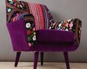 Bay armchair - oriental love