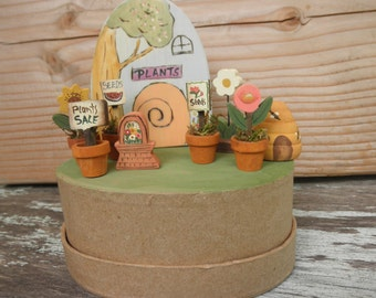 MINI WOOD TOYS-Potted Flowers, Bee Skep,Plant Shop-Imaginative Play-Waldorf Inspired