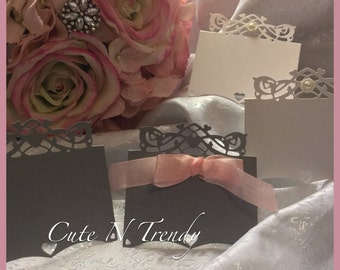 100 Name Place Cards- tent place cards-wedding reception