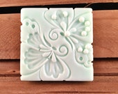 Butterfly Kisses - Square Bar Soap