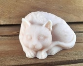 Sultry Cat Soap - You Choose Color & Scent