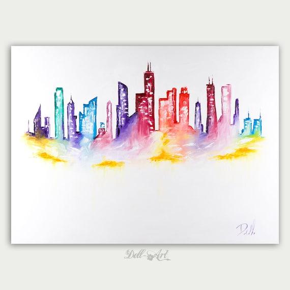city skyline how to get oil