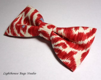 Bow Tie- Red and White