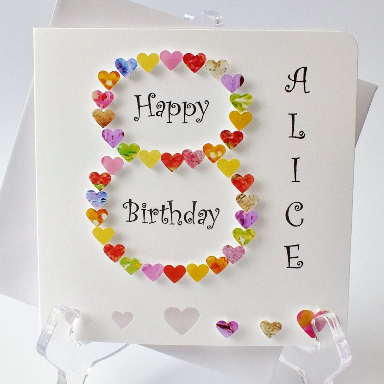 50th Birthday Card Personalised Age 50 Card Fiftieth – 50th Birthday Card for Mum