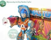 MOTU Action Figure: Rokkon Complete 1980s Toy