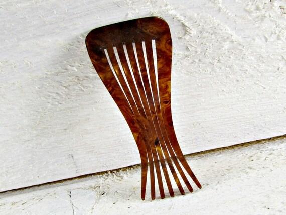 Tortoise vintage mantilla hair comb - for sale
