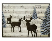 WINTER DEER Thinlits Die Set from the Winter Collection by Sizzix