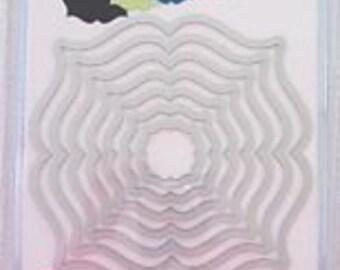 Sizzix Framelits REGAL LABELS Wafer Thin Die Set 559202