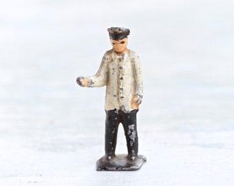 Milk Man - Antique Lead Toy - Iron Cast Figure