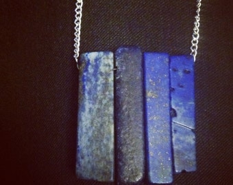 Row of Lapis Necklace