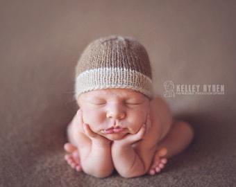 ECO Pebble Beanie - newborn hat - ORGANIC baby hat