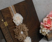 Wedding Guest Book / Wedding Wishes Book / Sign In Wooden Guest Book / Wedding Decoration / Rustic Wedding Guest Book / Rustic Wedding