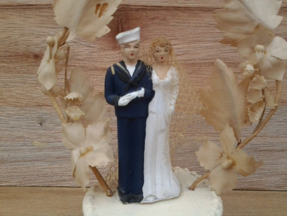 us navy wedding cake toppers vintage us navy wedding cake topper cake topper 21518