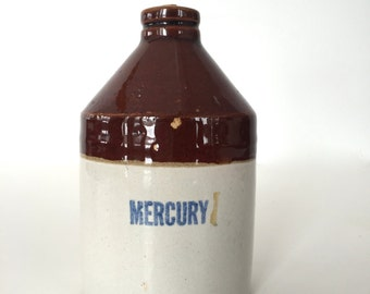 Mercury pottery jug
