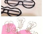 Unusual paper clip sets