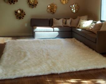 Faux Fur Bedspread Etsy