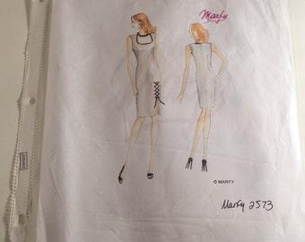 Marfy 2573 Sheath Dress pattern, size 42