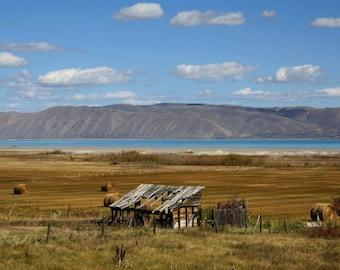 Abandoned Barn At Bear Lake - Idaho