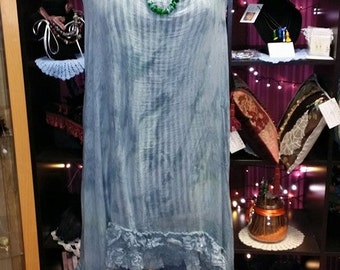 FLORENCE - Quirky*boho*floaty*lagenlook sleeveless long tunic