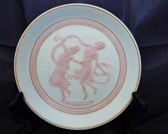 50% OFF, CLEARANCE, Vintage Tharaud Limoges Pink and White Dish