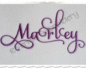Samantha Script Alternate Set 1 Machine Embroidery Font Monogram Alphabet - 3 Sizes