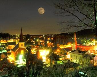 Montpelier Moonrise